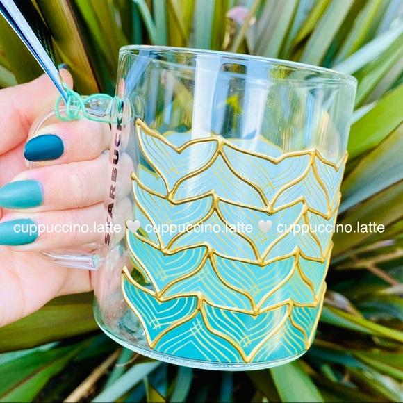 🧜♀️LAST FEW🧜♀️Anniversary Siren Tail Glass Mug